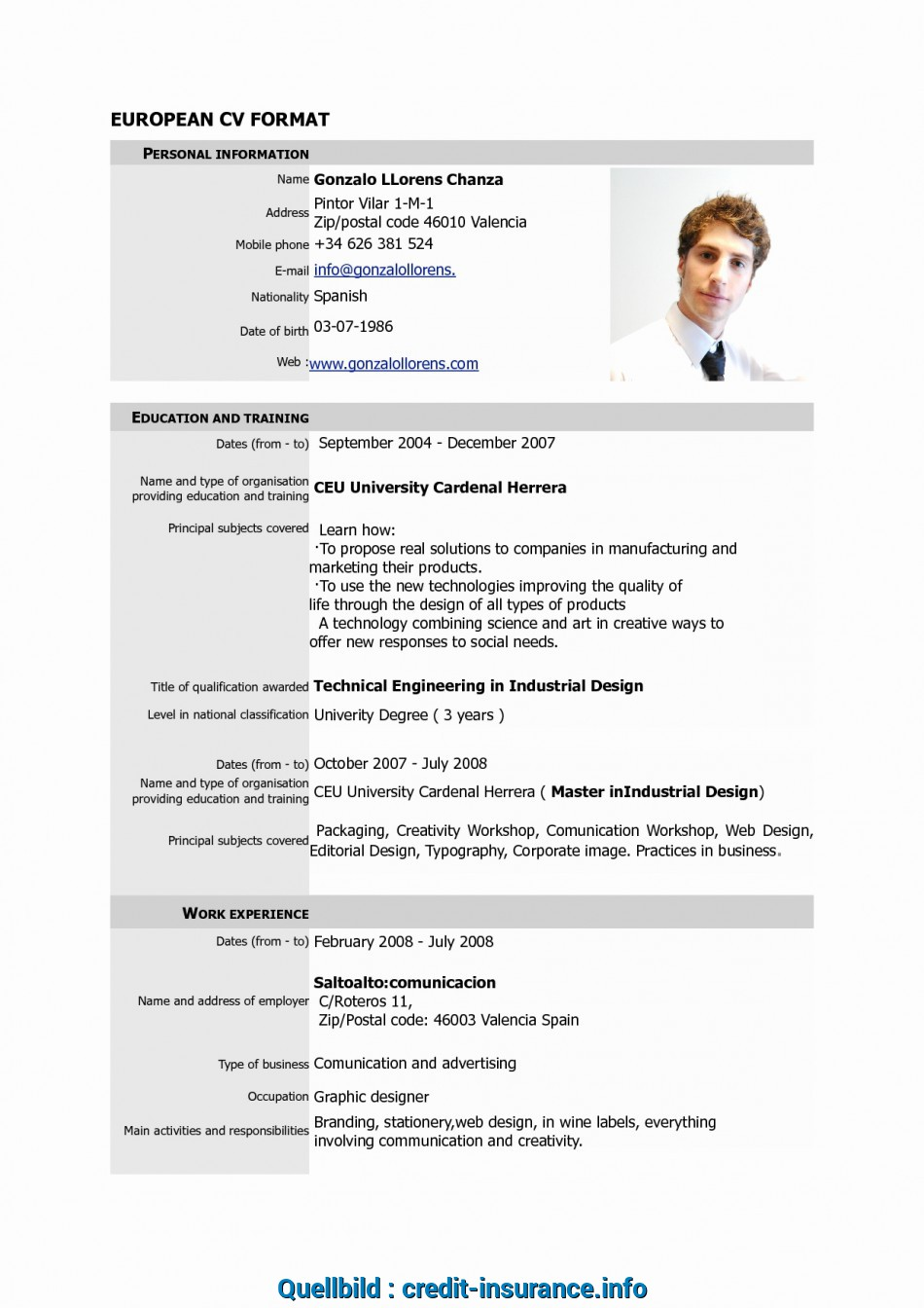 Frisch Editable Resume Template Resume Format Editable ...