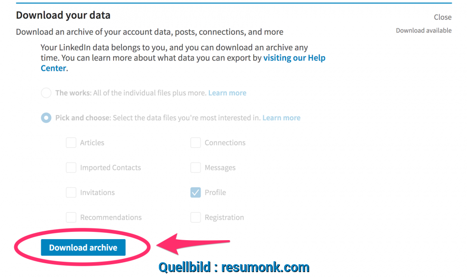Liebling Convert Your LinkedIn Profile To A Beautiful Resume