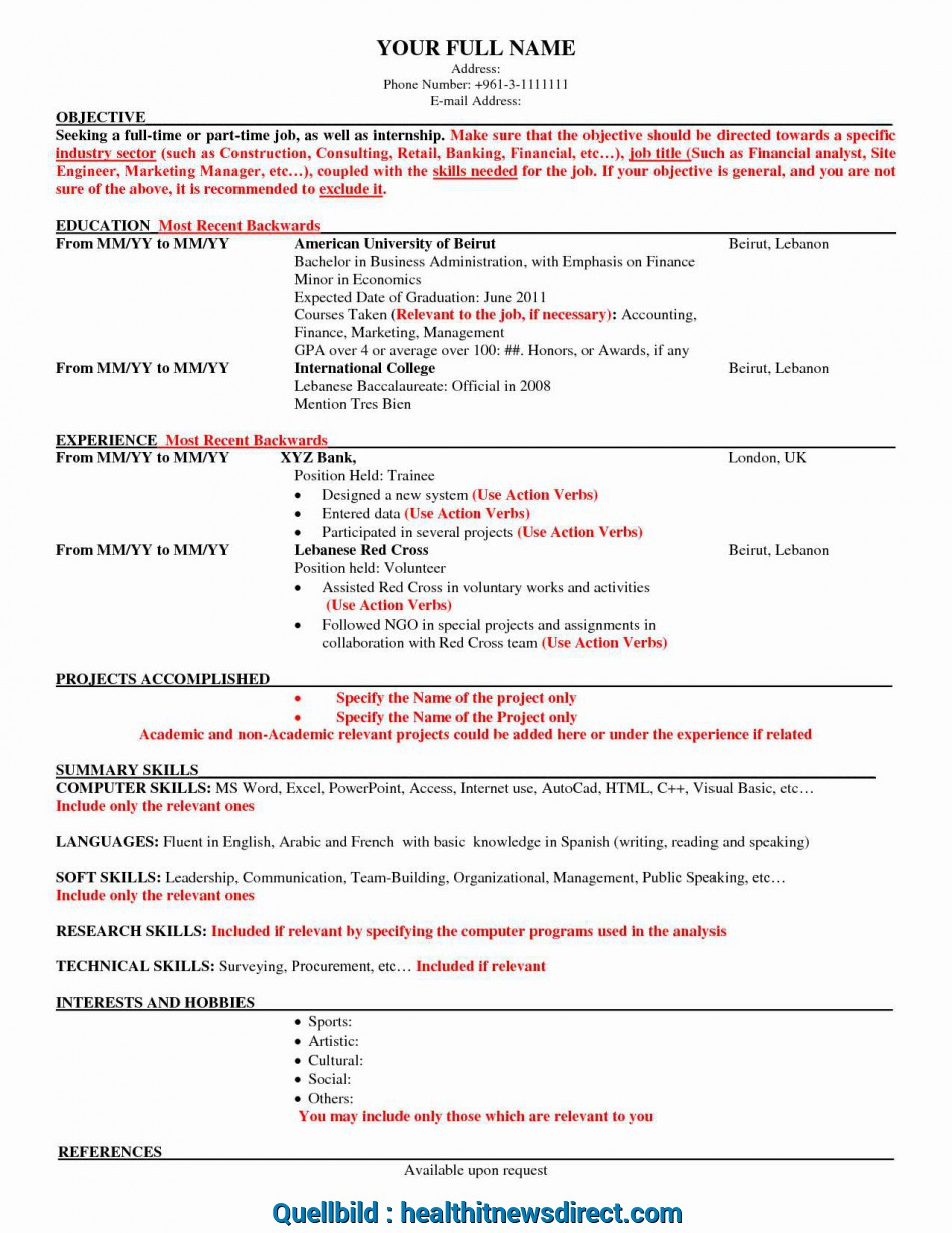 Praktisch Manificent Design American Resume Format Stylish