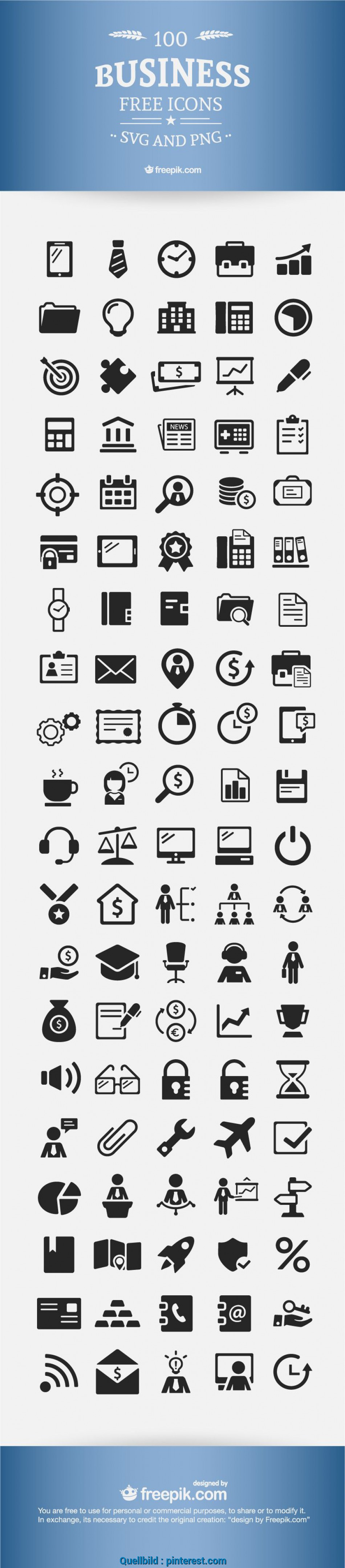 Frisch Download] Free Business Icons, 100% Vectors, Free Stuff