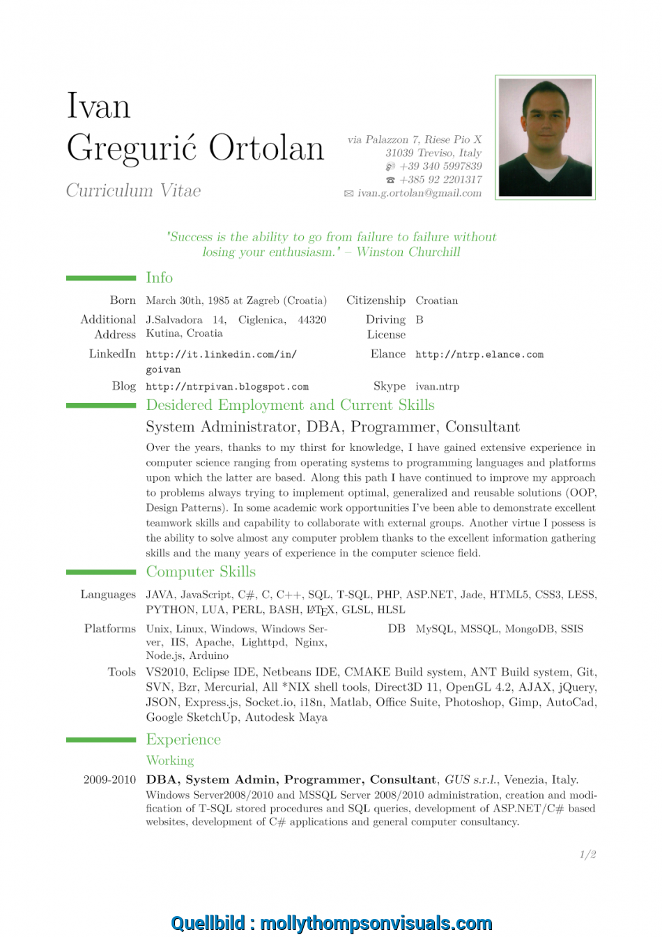 Großartig Cv Template Latex Download Ntrp Tech Talk Latex Cv Template Based On Moderncv Class Latex Templates