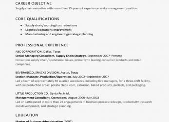 Komplett The Difference Between A Resume, A Curriculum Vitae