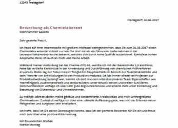 Prime 20+ Bewerbung Chemikant, Cant Wait Productions