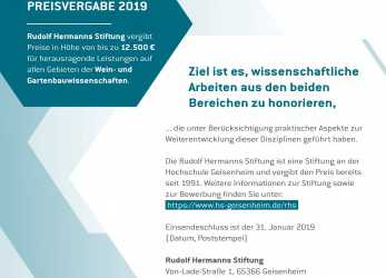 Großartig APPLY NOW: INTERNATIONAL AWARD 2019