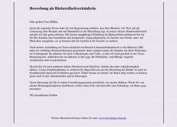 Briliant 18+ Bewerbung Hausfrau, Mutter, Commlinks