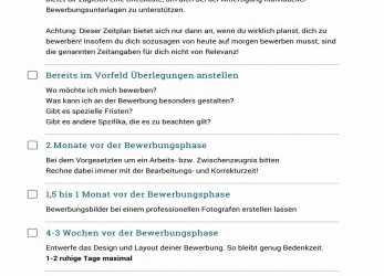 Detail Checkliste, Kostenfreien Download: