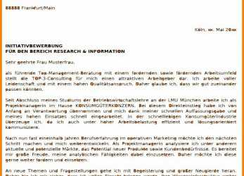 Kostbar 15+ Bewerbung Marketing Muster, Blagamillion.Com