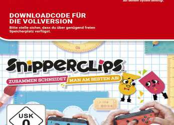 Positiv Snipperclips, Zusammen Schneidet, Am Besten Ab [Switch Download Code]: Amazon.De: Games