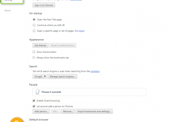 Frisch At, Bottom Of, Page, Click On Link Show Advanced Settings