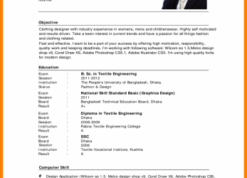 Gut Cv Sample English.English-Resume-Format-Beautiful-Curriculum-Vitae -Example-Pdf-Template-791×1024.Png
