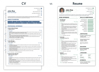 Komplett CV Vs Resume, What Is, Difference? [+Examples]