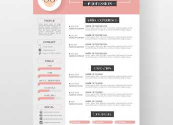 Neueste Editable Cv Format Download, File, Free Download, Majo