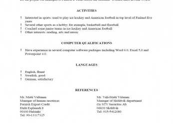 Briliant Cv Template References, 1-Cv Template, Resume Template Examples