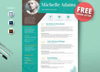 Komplex 50 Creative Resume Templates, Won'T Believe, Microsoft Word