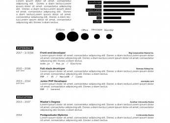 Kostbar LaTeX Templates » Curricula Vitae/Résumés