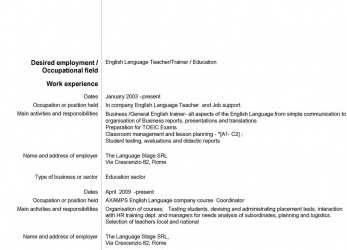 Neueste 969 Female /Trainer / Education Work Experience January 2003 Present In Company, Job Support