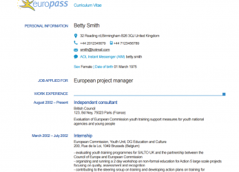 Frisch EXAMPLE DOWNLOAD EXAMPLE CV