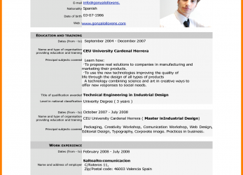 Gut Cv Forms Download.Professionalume-Format-Samples-Free-Download-Unique-Cv- Europass-Pdf-Home-European-Of-Firefox-Part.Png