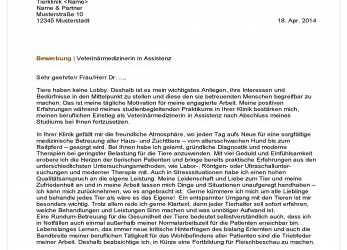 Briliant 12+ Initiativbewerbung Ingenieur, Commlinks