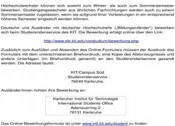 Kreativ Kit Online Bewerbung Ingenieurpädagogik Bachelor/Master Of Science (B.Sc./M.Sc.) Am