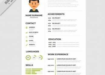 Positiv ..., Cv Templates Free Download Word, Unlimited Regarding Resume Superb Format Template Ideas Unusual Downloads