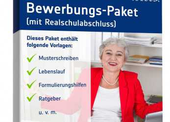 Detail Bewerbung-Paket 50Plus Realschulabschluss: Muster, Download