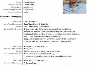 Oben Leitung Einer Marketing Innovation Agentur, Spezialisierung, Campaigning, Strategy, Digital Media, Events