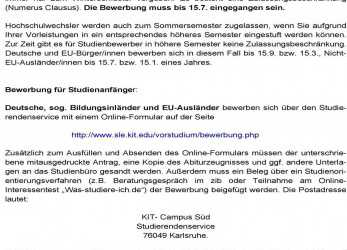 Primär Kit Online Bewerbung Bioingenieurwesen. Bachelor/Master Of Science (B.Sc./M.Sc.) Am