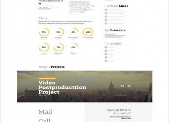 Prämie 41+ HTML5 Resume Templates, Free Samples, Examples Format