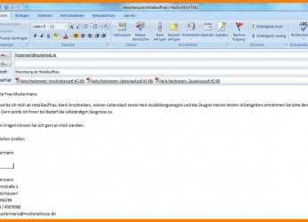 Detail 15+ E Mail Bewerbung Text, Artcon Servation Services Boston