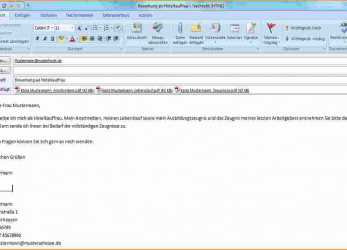 Praktisch 17+ Email Bewerbung Text, Artcon Servation Services Boston