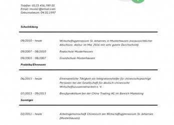 Frisch 17+ Bewerbung Duales Studium Muster, Mtleban On Office