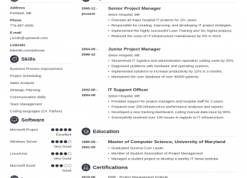 Experte 20+ CV Templates: Create A Professional CV & Download In 5 Minutes