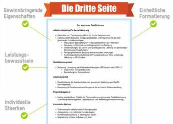 Kostbar ... 29 Perfect Bewerbung Dritte Seite, Any Positions
