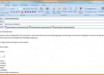 Prime 15+ Email Text Bewerbung Muster, Tchoups Market