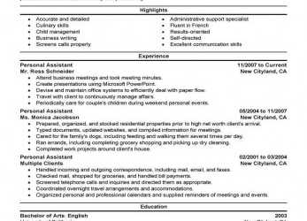 Trending These Resume Examples Have Been Specifically Designed, Jobs Like, One You'Re Looking For. Just Click On, Of, Templates Below To Start Building