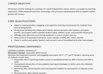 Ausgezeichnet Resume Objective Examples, Writing Tips