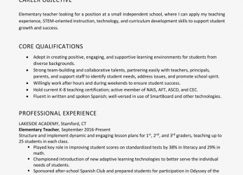 Neueste Resume Objective Examples, Writing Tips