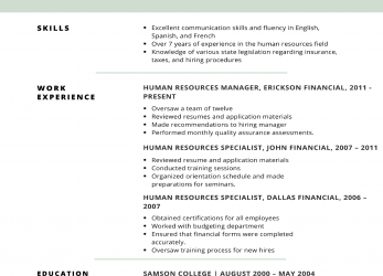 Akzeptabel Remarkable Resume Examples Skills, Resume Examples 2019