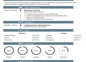 Primär Kickresume, Perfect Resume, Cover Letter, Just A Click Away