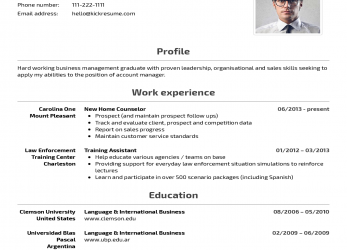 Experte Kickresume, Perfect Resume, Cover Letter, Just A Click Away