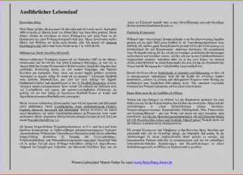 Original 15+ Lebenslauf Aufsatzform, Water Bury Child Guidance