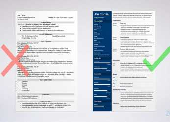 Kostbar Resume Templates, Word Free, Examples, Download