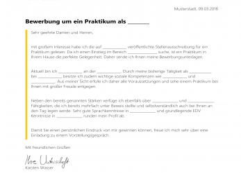 Komplett 94 Perfect, Perfekte Bewerbung Muster, Any Positions